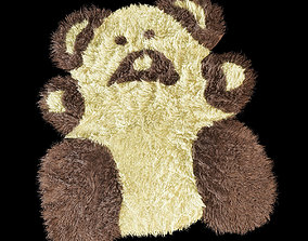 3D model Bear carpet