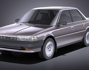 Toyota Camry 1987-1991 VRAY 3D