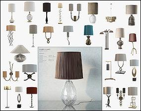 Porta Romana lamps 24 pcs 3D model