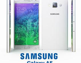 3D model Samsung Galaxy A5 White