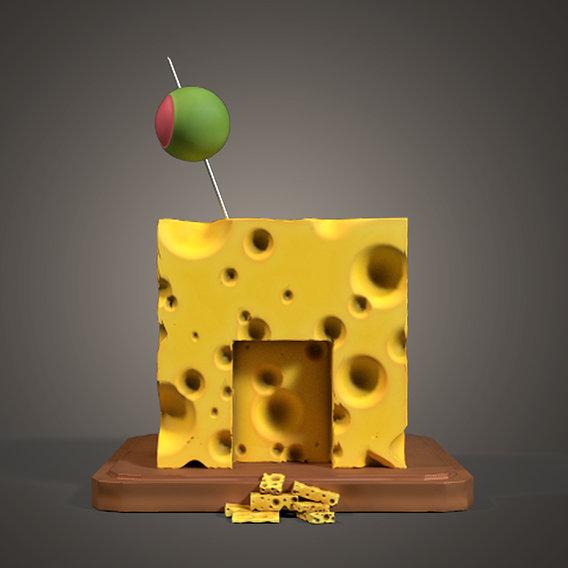 Stylized Cheese