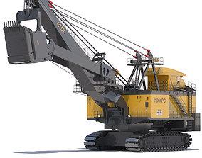 3D model Rope Shovel P H 4100XPC