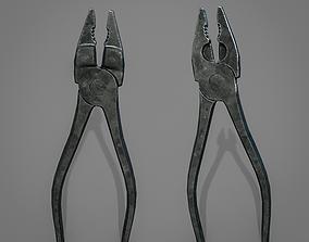3D asset Pliers Tool - Alicates herramienta