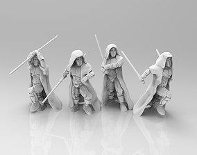 3D printable model Old Dark Acolytes