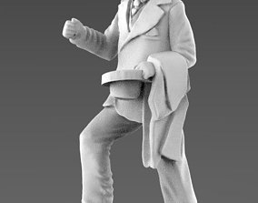 young man 3d model miniatures