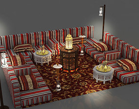 3D Arabic Seating 2