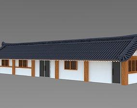 Hanok korean style house 3d model 3D model