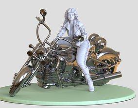 3D printable model Wonder Woman bike