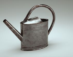 Watering Can 3D model PBR