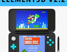 E3D - New Nintendo 2DS XL model