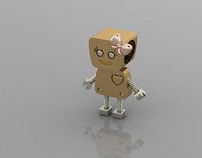3D print model Robot - Bead - Bracelet