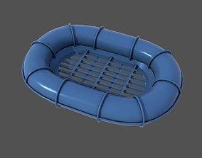 Carley raft wwi 3D printable model