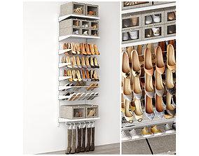 household 3D model Shoe rack