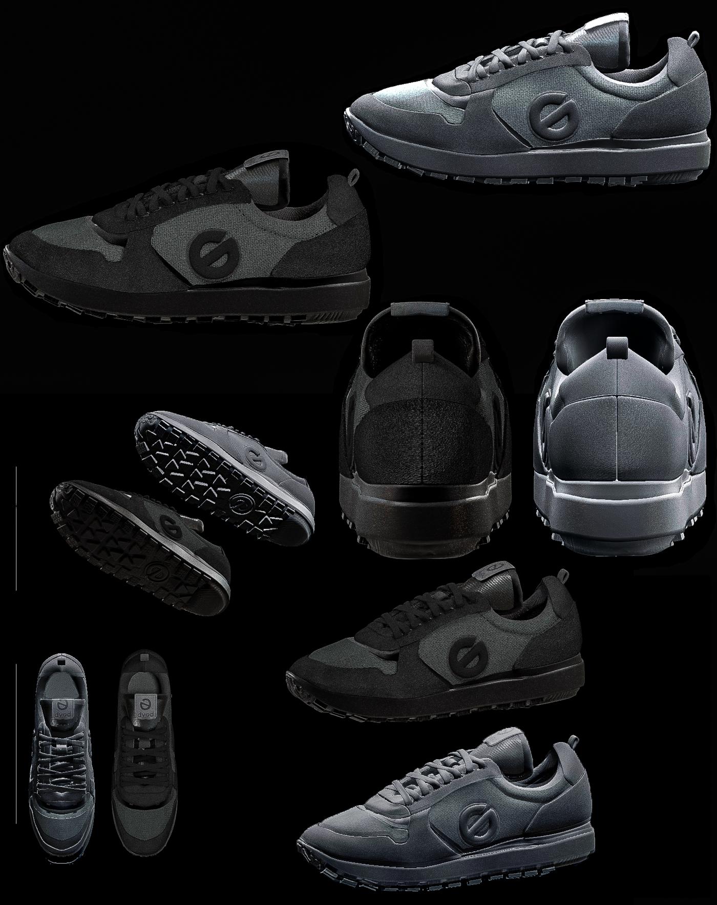 shoes BLACK GOLDEN EDITION