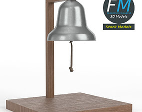 3D model Table top boxing bell