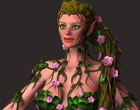 3D Dryad woman