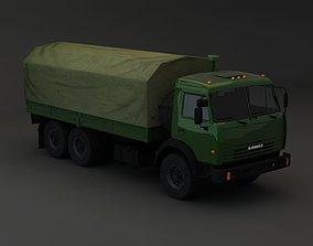medic 3D model Kamaz Modify 6x4 BR