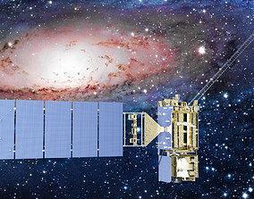 Satellite GOES R 3D model