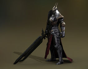 Fantasy Warrior 1 Player 3D model