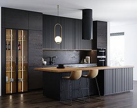 Modern kitchen 3 3D model