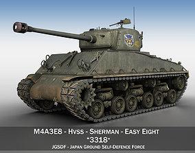 3D model M4A3E8 Sherman - JGSDF - 3318