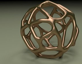 Organic Meshball 3D print model