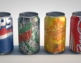 3D Can Drinks
