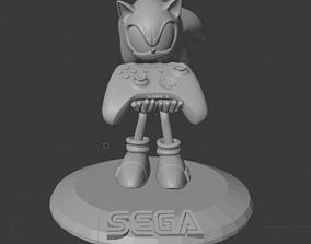 Sonic The Hedgehog xoboxone 3D print model