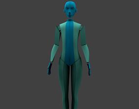 3D asset The Slender