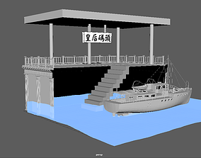 Queens pier 3D model