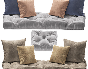 3D model Seat pillow set 3