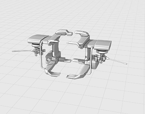 3D Helicopter Cannon Attachment