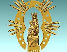 3D printable model Virgen de Guia - CNC - Milling -