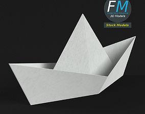 3D Paper boat