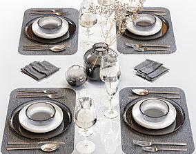 3D model Table setting 26