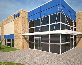 3D model Magazine Building2