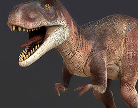 3D model Young Trex Dinosaur
