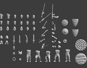Imperial Militia Set 1 3D print model