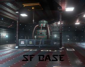SF Base 3D asset
