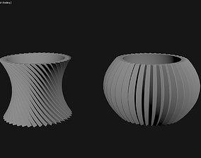 3D Printed Planter Plant Pot Plant Vase 082