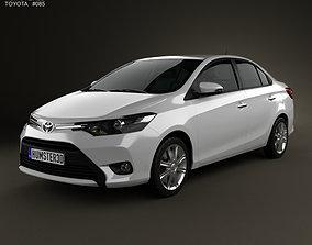 3D model Toyota Vios 2013