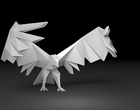 bird eagle sculpture 3D print model