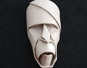 3D print model ring Fase mask origami