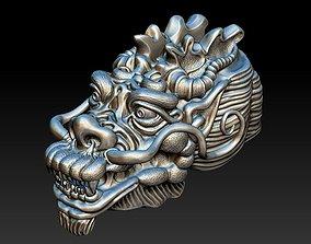 3D print model Dragon Head Asia - 2016