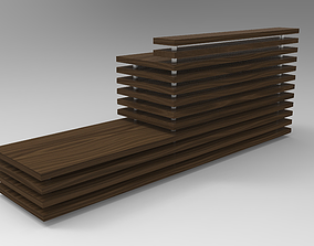 3D model Reception and Exposition Furniture