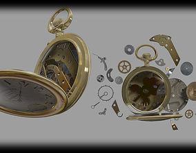 hold 3D model pocket watch