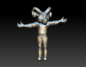Rameses North Carolina Tar Heels 3D printable model
