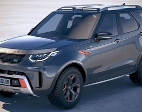 Land Rover Discovery SVX 2018 3D model