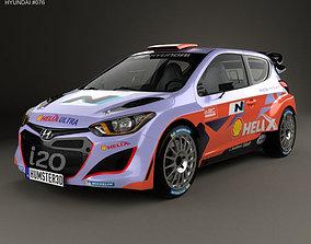 Hyundai i20 WRC 2012 3D model