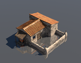 Peasan Greek House 3D asset
